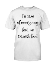 DANISH FOOD Classic T-Shirt thumbnail