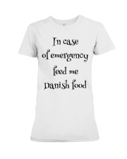 DANISH FOOD Premium Fit Ladies Tee thumbnail
