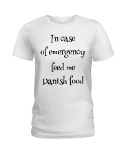 DANISH FOOD Ladies T-Shirt thumbnail