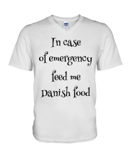 DANISH FOOD V-Neck T-Shirt thumbnail