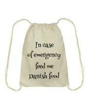 DANISH FOOD Drawstring Bag thumbnail