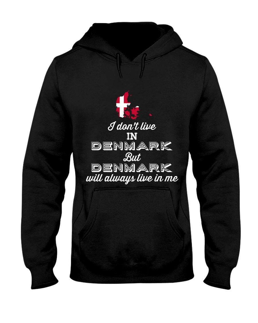 DENMARK LIVE IN ME  Hooded Sweatshirt