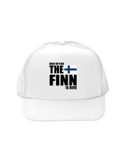 THE POWER OF A FINN IS THE SISU WITHIN Trucker Hat thumbnail