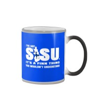 THE POWER OF A FINN IS THE SISU WITHIN Color Changing Mug thumbnail