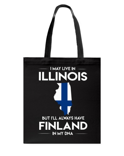 I MAY LIVE IN ILLINOIS FINNISH DNA