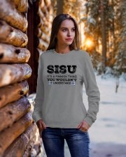 SISU - YOU WOULDN'T UNDERSTAND Crewneck Sweatshirt lifestyle-holiday-sweater-front-1