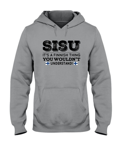 SISU - YOU WOULDN'T UNDERSTAND