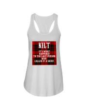SCOTTISH KILT Ladies Flowy Tank thumbnail