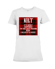 SCOTTISH KILT Premium Fit Ladies Tee thumbnail