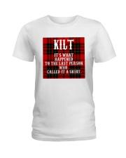 SCOTTISH KILT Ladies T-Shirt thumbnail