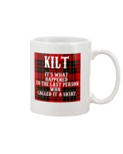 SCOTTISH KILT Mug front
