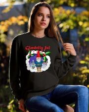GLAEDELING JUL DANISH CHRISTMAS Crewneck Sweatshirt lifestyle-unisex-sweatshirt-front-6