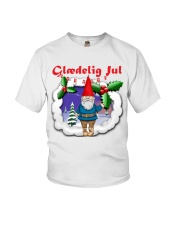 GLAEDELING JUL DANISH CHRISTMAS Youth T-Shirt thumbnail