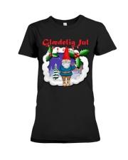 GLAEDELING JUL DANISH CHRISTMAS Premium Fit Ladies Tee thumbnail