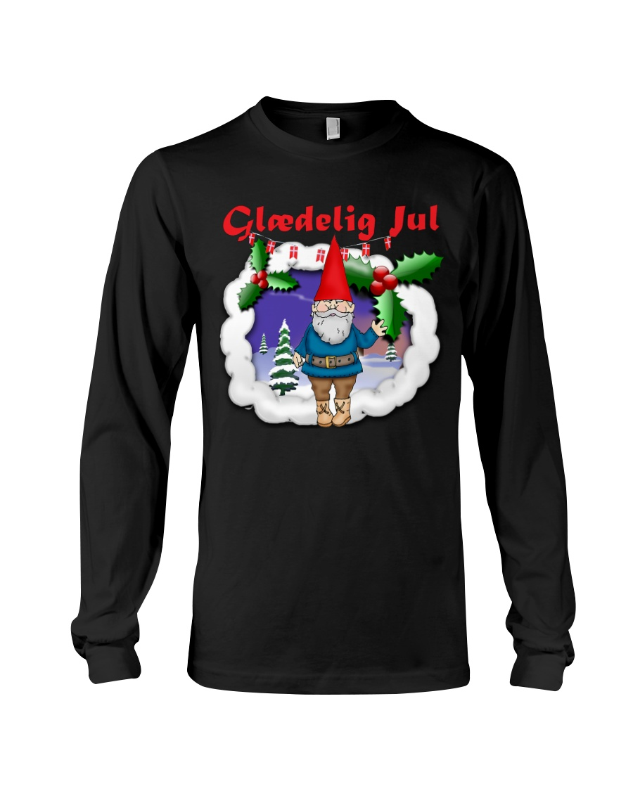 GLAEDELING JUL DANISH CHRISTMAS Long Sleeve Tee