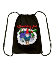 GLAEDELING JUL DANISH CHRISTMAS Drawstring Bag thumbnail