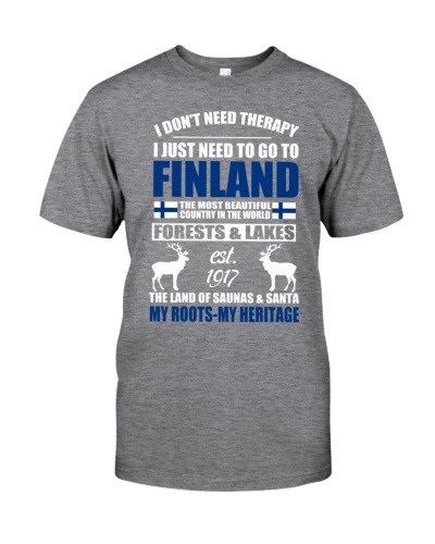 I DON'T NEED THERAPY I JUST NEED TO GO TO FINLAND
