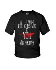 DENMARK CHRISTMAS AEBLESKIVER Youth T-Shirt thumbnail