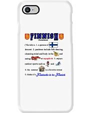 FINNISH KALSARIKANNIT WORD Phone Case thumbnail