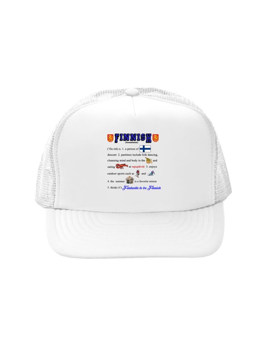 FINNISH KALSARIKANNIT WORD Trucker Hat