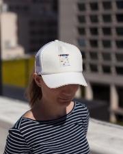 FINNISH KALSARIKANNIT WORD Trucker Hat lifestyle-trucker-hat-front-1