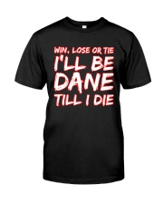 DANE WIN LOSE Classic T-Shirt thumbnail
