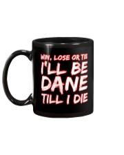 DANE WIN LOSE Mug back