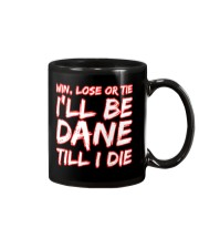 DANE WIN LOSE Mug front