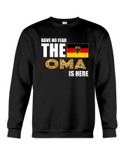 HAVE NO FEAR THE OMA IS HERE Crewneck Sweatshirt thumbnail