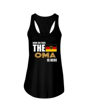 HAVE NO FEAR THE OMA IS HERE Ladies Flowy Tank thumbnail