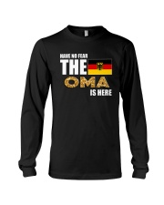 HAVE NO FEAR THE OMA IS HERE Long Sleeve Tee thumbnail