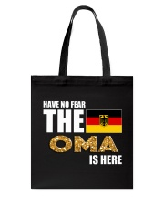 HAVE NO FEAR THE OMA IS HERE Tote Bag thumbnail