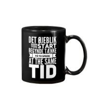 DANISH TWO LANGUAGE Mug thumbnail