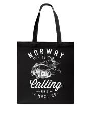 NORWAY IS CALLING Tote Bag thumbnail