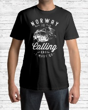 NORWAY IS CALLING Classic T-Shirt lifestyle-mens-crewneck-front-1