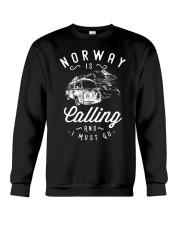 NORWAY IS CALLING Crewneck Sweatshirt thumbnail