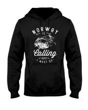 NORWAY IS CALLING Hooded Sweatshirt thumbnail