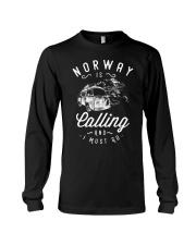 NORWAY IS CALLING Long Sleeve Tee thumbnail