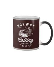 NORWAY IS CALLING Color Changing Mug thumbnail