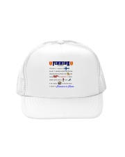 FINNISH AMERICAN AWESOME Trucker Hat front