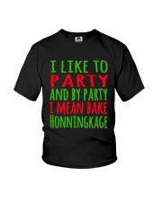 DENMARK - CHRISTMAS HONNINGKAKE PARTY Youth T-Shirt thumbnail