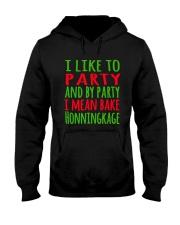 DENMARK - CHRISTMAS HONNINGKAKE PARTY Hooded Sweatshirt thumbnail