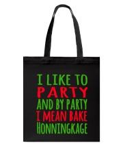 DENMARK - CHRISTMAS HONNINGKAKE PARTY Tote Bag thumbnail