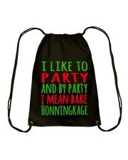DENMARK - CHRISTMAS HONNINGKAKE PARTY Drawstring Bag thumbnail