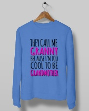 THEY CALL ME GRANNY  Crewneck Sweatshirt lifestyle-unisex-sweatshirt-front-10