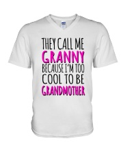 THEY CALL ME GRANNY  V-Neck T-Shirt thumbnail