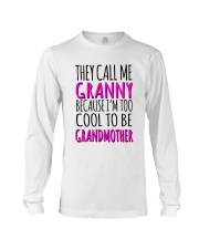 THEY CALL ME GRANNY  Long Sleeve Tee thumbnail
