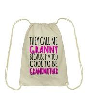 THEY CALL ME GRANNY  Drawstring Bag thumbnail