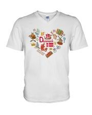 DANISH LOVE V-Neck T-Shirt thumbnail