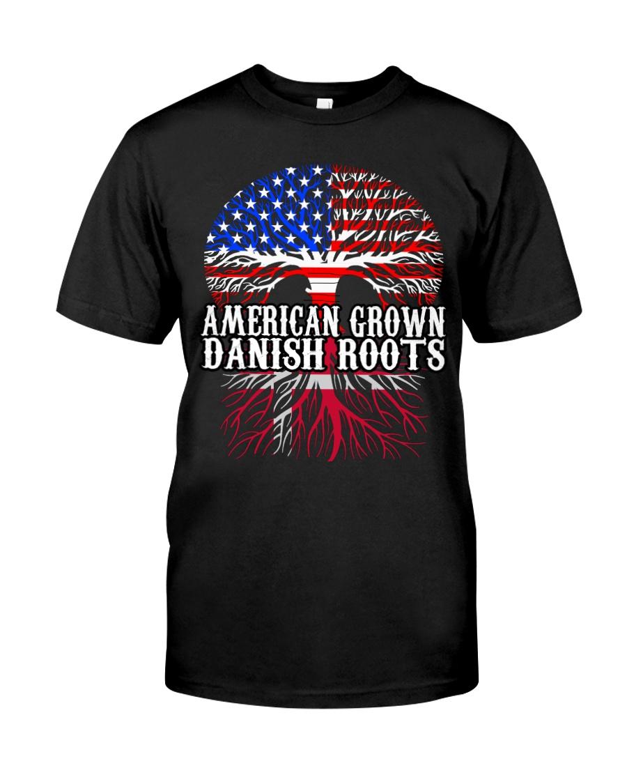 DANISH ROOTS T-SHIRT HOODIE TANK TOP Classic T-Shirt